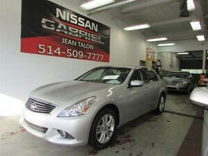 2012 Infiniti G37X G37x AWD PREMIUM ONE OWNER/NEVER ACCIDENTED/L