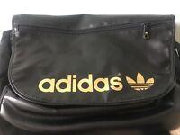 Black and Gold Adidas Messenger bag