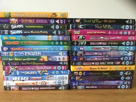 Children's DVDs for sale : including Ice Age, Despicable Me 2
