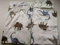 Fully lined next dinosaur curtains