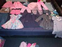 Girls clothes 3-4 50items