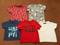 Boys 12-18 month t-shirts