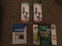 Samsung micro SD,phone chargers cd,s OPEN TO OFFERS