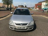 VAUXHALL CORSA 1.2 80 SXI 16V 94K , 2006 FSH GOOD CONDITION , 1 Previous Owner From New* GREAT DEAL*