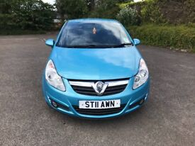 2011 VAUXHALL CORSA 1.2 ENERGY 3 DOOR BLUE LONG MOT DRIVES GREAT CHEAP RUNNING COST