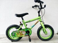 """(2540) 12"""" APOLLO Boys Girls Kids Childs Bike Bicycle+ STABILISERS Age: 3-4 Height: 90-105 cm"""