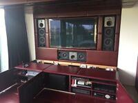 B&W CT8.2 LCR high end Mastering & Cinema monitors X 3 (cost £17.000)