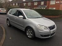 Volkswagen polo 1.2 petrol 5drs silver 2008