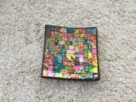 Beautiful patterned tray
