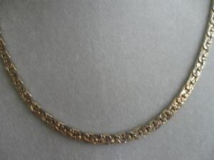 CLASSY 17-in. BRILLIANT GOLDTONE FANCY-LINK CHAIN NECKLACE