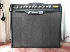 Line6 Spider IV 75 Watt Electric Guitar Amp - 50 Effects, 500 Presets & 64 User Memories Amplifier