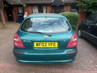 nissan almera very good condition except clutch slips