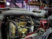 cat c10 engine with jake brake