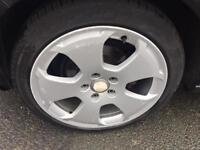 "Audi alloys 17"" with good tyres"