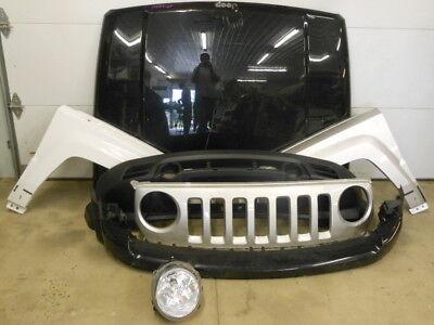 11 12 13 14 15 16 17 Jeep Patriot front bumper headlight grille hood fender