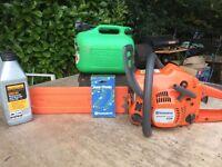 HUSQVARNA 236 CHAIN SAW ...USED ..power tools