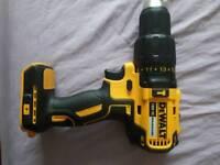 Dewalt DCD 778 18V brushless combi hammer drill
