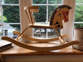 Wooden Rocking Horse in great shape- £ 15