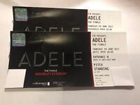 ADELE TICKETS//Wembley Stadium//Thursday 29th June//Standing//£500 x2