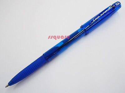 12 X Pilot Super Grip G Bps-gg 1.0mm Medium Ballpoint Pen W Cap Blue