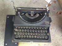 Imperial Portable Typewriter