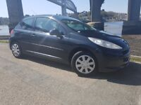Peugeot 207 1.4ltr Hdi Diesel 3dr 2007(12m Mot,Full Service History,Low Miles)