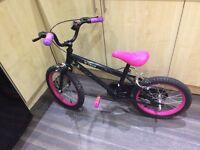 Neon rink girls bike