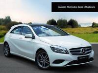 Mercedes-Benz A Class A180 CDI BLUEEFFICIENCY SPORT (white) 2014-02-27
