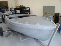 Free boat hull unfinished project NO TRAILER