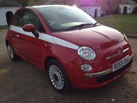 Fiat 500 1.2 3dr low mileage