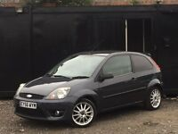 ★ 2006 FORD FIESTA 1.6 TDCi ZETEC S + ALLOYS + 1./2 LEATHER ★