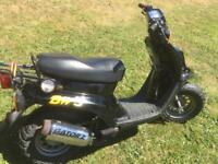 Yamaha BWS 50cc scooter rare and collectible classic.