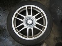 S-40,,VOLVO,,ALLOYS & BRAND NEW TYRES,NEVER USED