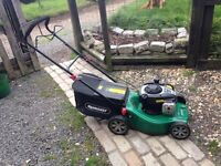 Lawnmower qualcast 125cc self propelled petrol