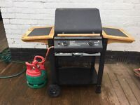 Gas barbecue. Blooma