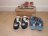 Ralph Lauren and Tiberland Boys Shoes