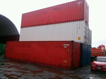 40' Sea Shipping Containers Maddington Gosnells Area Preview