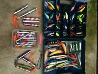Massive joblot of pike and sea lures