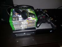 Xbox One including games and controllers