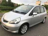 LOW 78,000 MLS AUTO, YEARS MOT, AUG 2006 HONDA JAZZ 1.3 SE CVT -7, 5dr, 2 OWNERS, V.