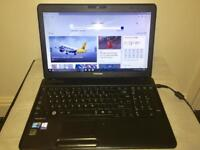 i3 4GB Ram Fast Toshiba Satellite HD Laptop 320GB,Window10,Microsoft office,Ready to use