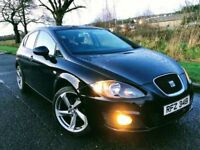 ✅2010 Seat Leon 1.6 TDI EMOCION CR👉👉FINANCE FROM £29 PER WEEK PAY NOTHING UNTIL Arpil 2018👈👈