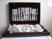 58 PIECE BOXED CUTLERY SET - UNUSED
