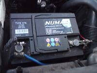 X4 CAR BATTERIES AVAILABLE £25.00 EACH HARINGEY NORTH LONDON N8 - NO OFFERS