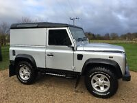 Land Rover DEFENDER 90 2.4 TDi Hard Top 3dr - £6K of XS factory fitted extras. FSH and NO VAT!!