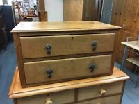SMALL CHEST WITH TWO DRAWERS (Delivery available)