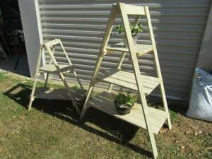 A-frame Timber Plant Stands
