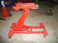 High lift Commercial Heavy Duty Transmission Jack Max 2 Ton Lift