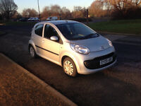 2009 citroen c1 ,28k very low miles , £20 for road tax, manual gears