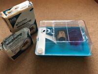 Hamster Cage, Accessories & Woodshavings